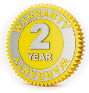 Limited 2 Year Warranty